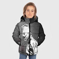 Куртка зимняя для мальчика Кори Тейлор цвета 3D-черный — фото 2