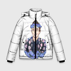 Куртка зимняя для мальчика Twenty One Pilots: Blue Guy цвета 3D-черный — фото 1