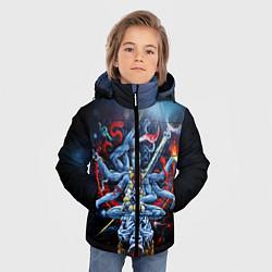 Куртка зимняя для мальчика Cult of Fire цвета 3D-черный — фото 2