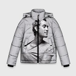 Куртка зимняя для мальчика Джуд Лоу цвета 3D-черный — фото 1