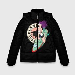 Детская зимняя куртка для мальчика с принтом Leela Express, цвет: 3D-черный, артикул: 10127239106063 — фото 1