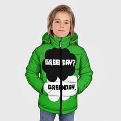 Куртка зимняя для мальчика Green Day Clouds цвета 3D-черный — фото 2