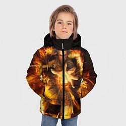 Куртка зимняя для мальчика Witcher gwent 3 цвета 3D-черный — фото 2