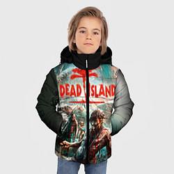 Детская зимняя куртка для мальчика с принтом Dead Island, цвет: 3D-черный, артикул: 10129111106063 — фото 2