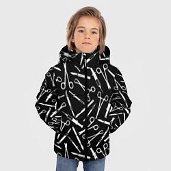 Куртка зимняя для мальчика Шприцы цвета 3D-черный — фото 2