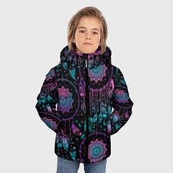 Куртка зимняя для мальчика Ловцы снов цвета 3D-черный — фото 2