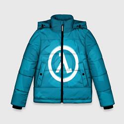 Куртка зимняя для мальчика Half-Life: Blue Focus цвета 3D-черный — фото 1