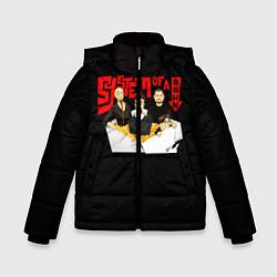 Куртка зимняя для мальчика SOAD: Wok цвета 3D-черный — фото 1