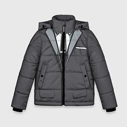 Куртка зимняя для мальчика Костюм цвета 3D-черный — фото 1