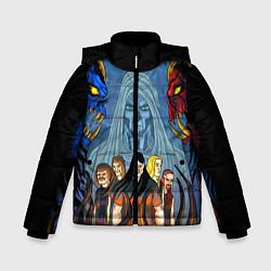 Куртка зимняя для мальчика Dethklok: Heroes цвета 3D-черный — фото 1