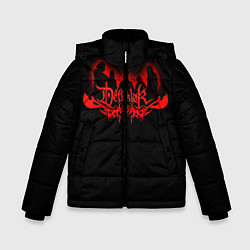Детская зимняя куртка для мальчика с принтом Dethklok, цвет: 3D-черный, артикул: 10134391306063 — фото 1