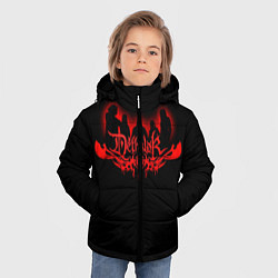 Куртка зимняя для мальчика Dethklok цвета 3D-черный — фото 2