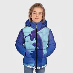 Куртка зимняя для мальчика Berserk Night цвета 3D-черный — фото 2
