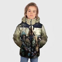 Куртка зимняя для мальчика STALKER: Radioactive цвета 3D-черный — фото 2