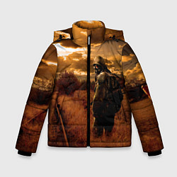 Куртка зимняя для мальчика S.T.A.L.K.E.R: Older Soldier цвета 3D-черный — фото 1