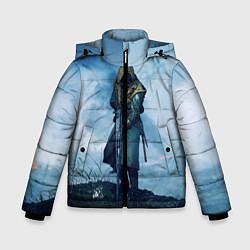 Куртка зимняя для мальчика Battlefield Warrior цвета 3D-черный — фото 1