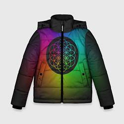 Куртка зимняя для мальчика Coldplay Colour цвета 3D-черный — фото 1