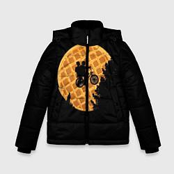 Куртка зимняя для мальчика Wafer Rider цвета 3D-черный — фото 1