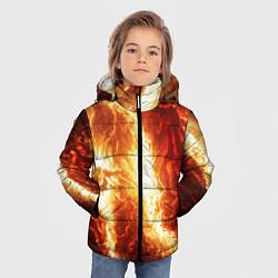 Куртка зимняя для мальчика Gates of hades цвета 3D-черный — фото 2