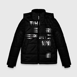 Куртка зимняя для мальчика Epic Runner цвета 3D-черный — фото 1