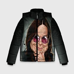 Куртка зимняя для мальчика Оззи Осборн цвета 3D-черный — фото 1