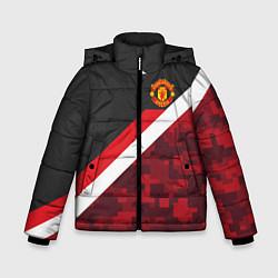 Куртка зимняя для мальчика Man UTD FC: Sport Camo цвета 3D-черный — фото 1