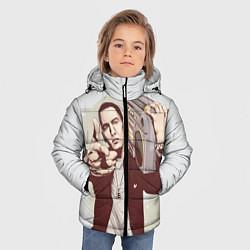 Куртка зимняя для мальчика Eminem: Street Music цвета 3D-черный — фото 2