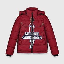 Куртка зимняя для мальчика Antoine Griezmann 7 цвета 3D-черный — фото 1