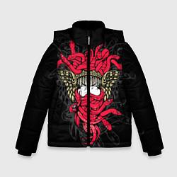 Куртка зимняя для мальчика Горгона Медуза - фото 1
