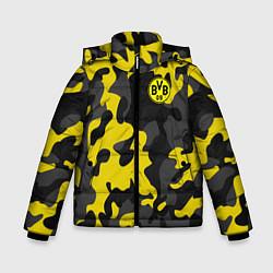 Куртка зимняя для мальчика Borussia 2018 Military Sport цвета 3D-черный — фото 1