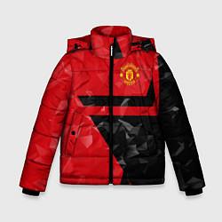 Куртка зимняя для мальчика FCMU: Red & Black Star цвета 3D-черный — фото 1