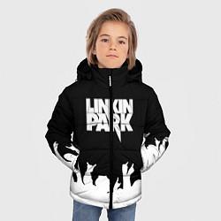 Куртка зимняя для мальчика Linkin Park: Black Rock цвета 3D-черный — фото 2