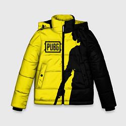 Зимняя куртка для мальчика PUBG: Yellow Shadow