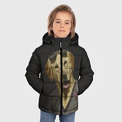 Куртка зимняя для мальчика Mr Peanutbutter цвета 3D-черный — фото 2