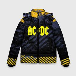 Куртка зимняя для мальчика AC/DC: Danger Style цвета 3D-черный — фото 1
