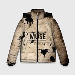 Куртка зимняя для мальчика Muse: the 2nd law цвета 3D-черный — фото 1