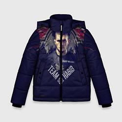 Куртка зимняя для мальчика Team Habib 1988 цвета 3D-черный — фото 1