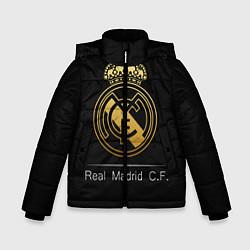 Куртка зимняя для мальчика FC Real Madrid: Gold Edition цвета 3D-черный — фото 1