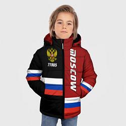 Куртка зимняя для мальчика Moscow, Russia цвета 3D-черный — фото 2