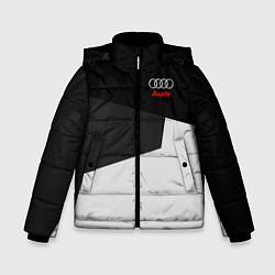 Куртка зимняя для мальчика Audi Sport цвета 3D-черный — фото 1