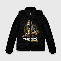 Куртка зимняя для мальчика The Offspring: Coming for you цвета 3D-черный — фото 1