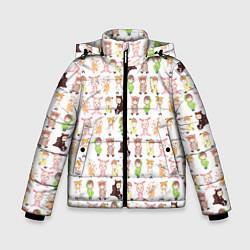 Детская зимняя куртка для мальчика с принтом MONSTA X 10, цвет: 3D-черный, артикул: 10150080706063 — фото 1