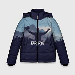 Куртка зимняя для мальчика Far Cry 5: Ave Joseph цвета 3D-черный — фото 1
