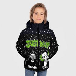Куртка зимняя для мальчика Smoky Mo & Kizaru цвета 3D-черный — фото 2