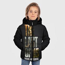 Куртка зимняя для мальчика Endure and Survive цвета 3D-черный — фото 2