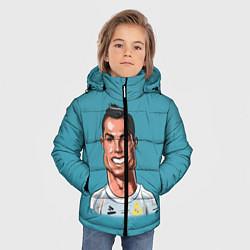 Куртка зимняя для мальчика КариРоналдо цвета 3D-черный — фото 2