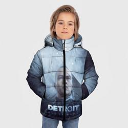 Куртка зимняя для мальчика Become Human цвета 3D-черный — фото 2