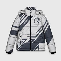 Куртка зимняя для мальчика Team Liquid: Grey E-Sport цвета 3D-черный — фото 1