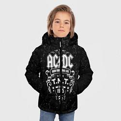 Куртка зимняя для мальчика AC/DC: Run For Your Life цвета 3D-черный — фото 2