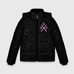 Куртка зимняя для мальчика Pew Die Pie цвета 3D-черный — фото 1